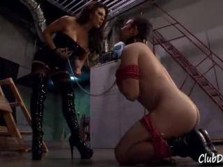 Clubdom: 09_02_12 Ass Worship - boots - lesbian fleece fetish