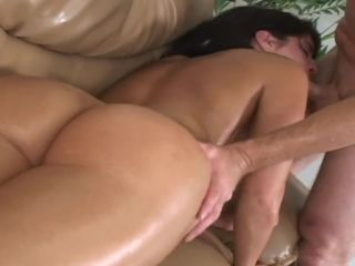 Hot milf with hairy sy and oiled bigg ass