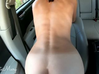 HE FUCKED ME HARD DURING THE TRIP RIGHT IN THE CAR! - Amateur CuteMary