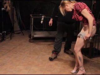 Brutal BDSM Pig – Tit Whipping (090715)