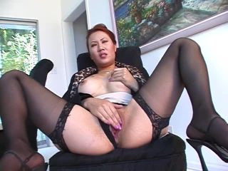 Asian Employs Her Cunt on Dude's Cock
