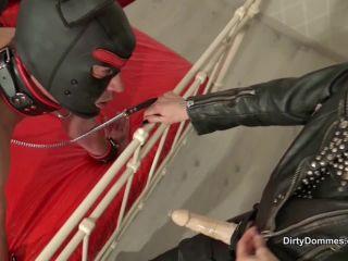 Nikki Cruel - Nasty - Slave Doggy Spitroasted - Part 2 [HD 720P] - Screenshot 1