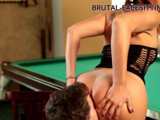 Ani Blackfox – Playing with her slave