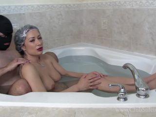 Clubstiletto – He's Always Looks Nervous When I Tell Him It's Bath Time | bdsm | bdsm porn xxx bdsm enema