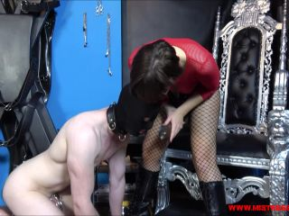 Porn online Miss Petites Femdom Store – SUCK MY MONSTER COCK [STRAP-ON] femdom