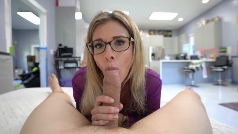 Cory Chase - Step Mom Cory Chase Wakes up Step Son with Blowjob Swallow POV 4k [UltraHD/4K 2160P]