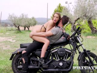 Online Private presents Alexis Crystal fucks on motorbike – - private