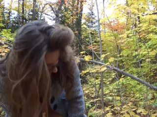 Amateur - forest touching