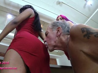 Bratprincess - Amadahy and Dominique - Shows New Friend how Grandfather is kept in Chastity (Part 1-2) (1080 HD)