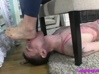 Toe Sucking – The Laughing Latina – Footstool For Jasmine – Jasmine Mendez