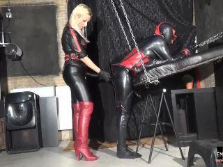 Mistress Kelly Kalashnik - Multiple Orgasm Rubber Slut Fucking