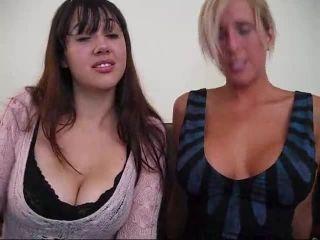 Porn tube Porn online Ceara Lynch - Ceara and Lyne's big tit tease part 2 femdom