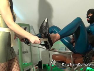 Sissification – Dirty Trans Dolls – Creating My new rubber doll part 2 – Fetish Liza
