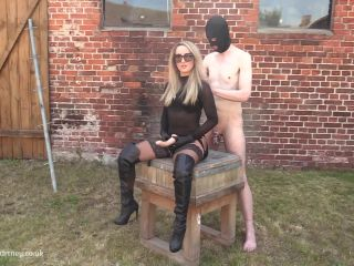 femdom - Mistress Courtneys Fetish Lair – Strap-On In The Sun At The Farm