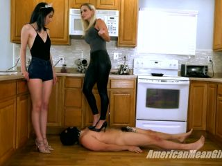 Degradation – THE MEAN GIRLS – Trampling With Grace – Goddess Platinum and Queen Grace