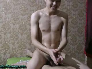 Horny oral massage