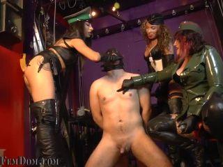 Female Domination – Fascist FemDom – Gangbang Assault: Choke on Victory Pt. 2 w_ Eden. Simone & Tangent