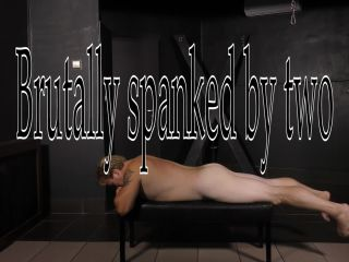 CRUEL MISTRESSES – FULL HD Brutally spanked by two. Starring Mistress Ariel
