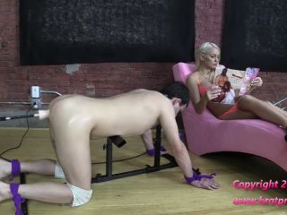 Brat Princess 2 – Cali and Kenzie – Sissy Trained to Take Cock with Machine Fucking