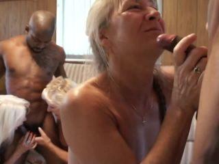 Nursing Home Orgy: Black Attack, Scene 3    big butt - blonde