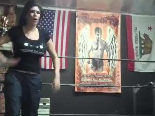 5helly martinez vs man mix wrestling