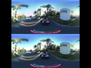 Online Tube VrHush presents Alice Lighthouse Seduced by the Pool 360 - virtual reality