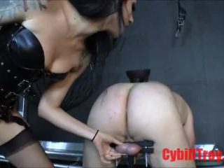 Cybill Troy  - Pain in the Ass - pegging on bdsm porn