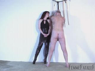 [Femdom 2018] FemmeFataleFilms  The Secret Of Caning  Part 1. Starring Miss Zoe [Spanking, Spanking F_M, Spanked, Spank]