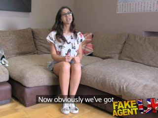 Fakeagen hot euro chick loves deepthroat pussy fucking and anal sex