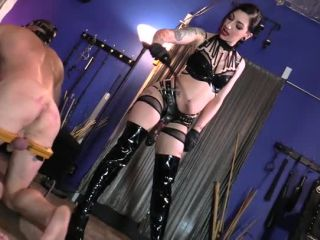 Cbt – Cybill Troy FemDom Anti-Sex League – Drilling for Slave Ass