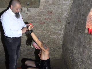 Bondage wife Lady-Isabell666 gets fisted hardcore