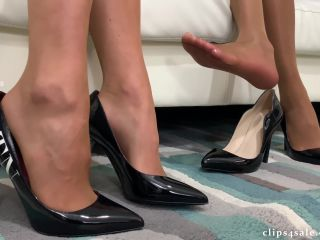 Bratty Babes Own You – Dinner Party Footjob Sleepy Wife Unaware 4K