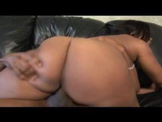 Massive Black Ass Bounces On Nice Cock 720