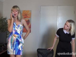 April 5th, 2019 Clare Spanks Bitsy for Clowing
