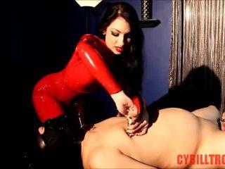 Porn online Cybill Troy FemDom Anti-Sex League – Cock Cage Sounding femdom