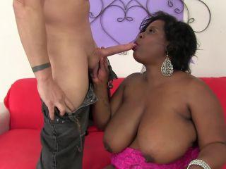 Big titty black gal loves big cock marliese