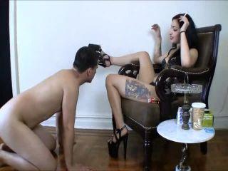 High Heels – Cybill Troy FemDom Anti-Sex League – Ass Fucked with an 8-Inch Heel