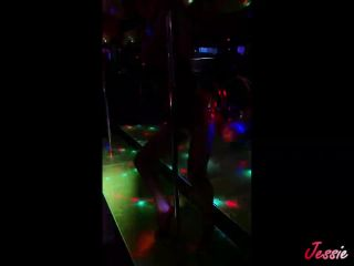 Sexy pole dancer got taken out and fucked in hotel