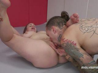 Bella Rossi Takes her prize after dominating in wrestling Bella Rossi ...
