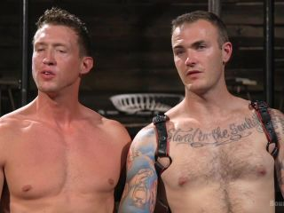 Captive God Pierce Paris: Bound in Rope Bondage and Fucked by Hot Stud - Kink  August 31, 2017
