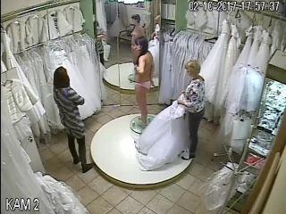 Wedding dress fitting 23