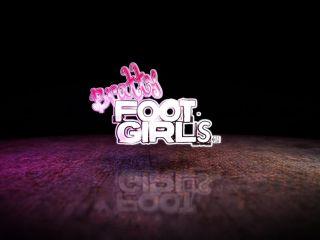 Foot Fetish Lesbian, Feet Licking, Trample, Smothering
