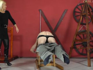 Caning – CRUEL MISTRESSES – FULL HD Intimidating Zita Starring Mistress Zita