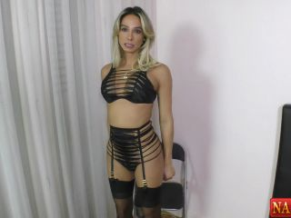 Online shemale video Bianca HILLS part 1