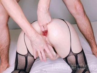 UKnowWhatImDoingHere - Seriously intense anal fist and stretching