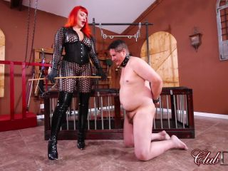 clubdom  lady karma  caned to tears  discipline