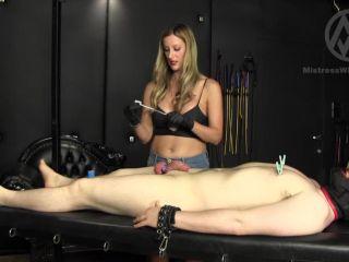 1287 - Nikki - Cock Torture and Orgasm Control