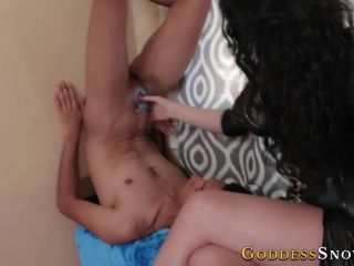 Cum Swallowing – Goddess Alexandra Snow – Upside-down Cum Eating