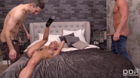 Mira Biliss - Handyman, Hubby Try To Satisfy Horny Little Ukrainian Nympho [FullHD 1080P]
