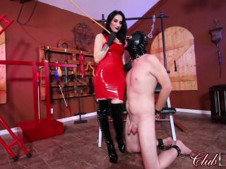 [Femdom 2018] ClubDom  Alissa Avni Caning Slave [Caning, Cane, Canes, Canning]